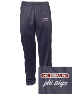 Phi Sigma Phi Embroidered Men's Tricot Track Pants