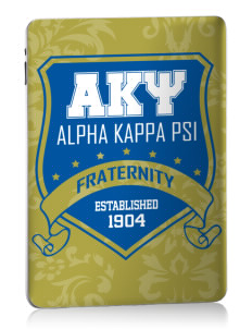 Alpha Kappa Psi Apple iPad Skin