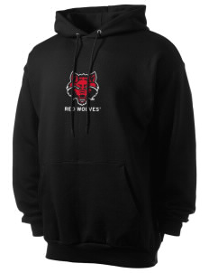 Arkansas State University Red Wolves Men's 7.8 oz Lightweight Hooded Sweatshirt