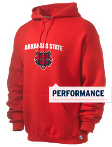 Arkansas State University Red Wolves Russell Men's Dri-Power Hooded Sweatshirt