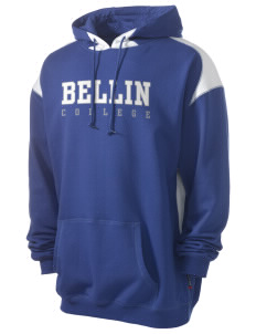 Bellin College of Nursing College of Nursing Men's Pullover Hooded Sweatshirt with Contrast Color