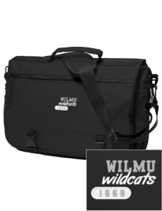 Wilmington University Wildcats Embroidered Expandable Briefcase