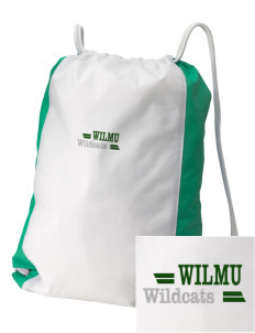 Wilmington University Wildcats Embroidered Holloway Home and Away Cinch Bag