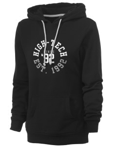High-Tech Institute est. 1992 Women's Core Fleece Hooded Sweatshirt