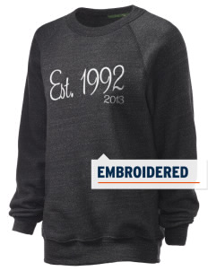 High-Tech Institute est. 1992 Embroidered Unisex Alternative Eco-Fleece Raglan Sweatshirt