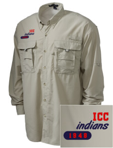 Itawamba Community College Indians Embroidered Men's Explorer Shirt with Pockets