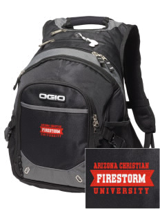 Arizona Christian University Firestorm Embroidered OGIO Fugitive Backpack