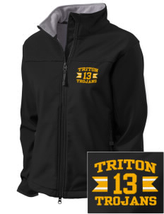 Triton College Trojans Embroidered Women's Glacier Soft Shell Jacket