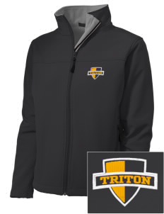 Triton College Trojans Embroidered Women's Soft Shell Jacket