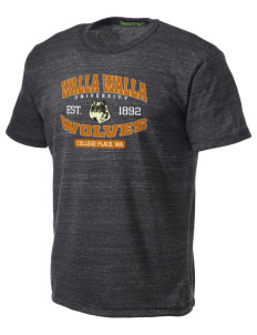 Walla Walla University Wolves Alternative Men's Eco Heather T-shirt