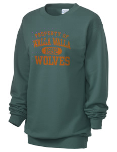 Walla Walla University Wolves Unisex 7.8 oz Lightweight Crewneck Sweatshirt