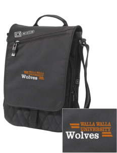 Walla Walla University Wolves Embroidered OGIO Module Sleeve for Tablets