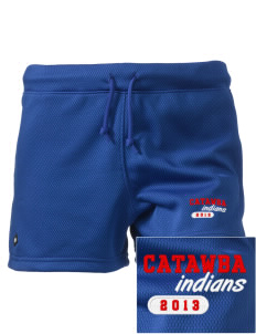 "Catawba College Indians Embroidered Holloway Women's Balance Shorts, 3"" Inseam"