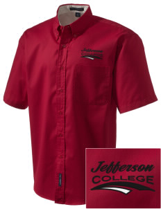 Jefferson Medical College College Embroidered Men's Easy Care Shirt