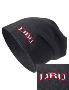 Dallas Baptist University Patriots Embroidered Slouch Beanie
