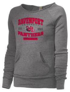 Davenport University Panthers Alternative Women's Maniac Sweatshirt