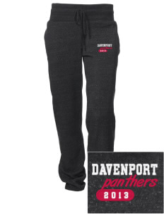 Davenport University Panthers Embroidered Alternative Women's Unisex 6.4 oz. Costanza Gym Pant