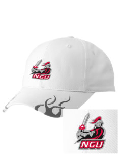 North Greenville University Crusaders  Racing Cap with Flames