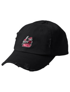 North Greenville University Crusaders Embroidered Distressed Cap