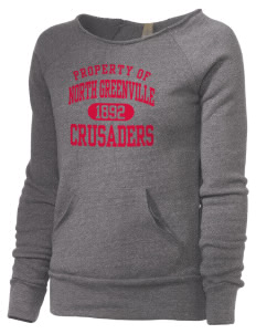 North Greenville University Crusaders Alternative Women's Maniac Sweatshirt
