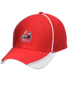 North Greenville University Crusaders Embroidered New Era Contrast Piped Performance Cap