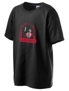 North Greenville University Crusaders Kid's 6.1 oz Ultra Cotton T-Shirt