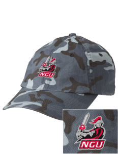 North Greenville University Crusaders Embroidered Camouflage Cotton Cap