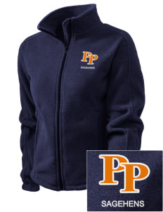Pomona-Pitzer Athletics Sagehens Embroidered Women's Fleece Full-Zip Jacket