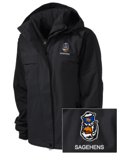 Pomona-Pitzer Athletics Sagehens  Embroidered Women's Nootka Jacket