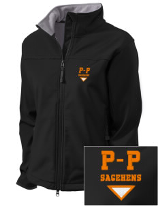 Pomona-Pitzer Athletics Sagehens Embroidered Women's Glacier Soft Shell Jacket