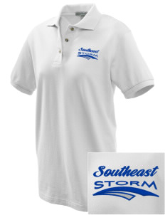 Southeast Community College Beatrice Storm Embroidered Women's Pique Polo