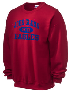 John Glenn High School Eagles Ultra Blend 50/50 Crewneck Sweatshirt