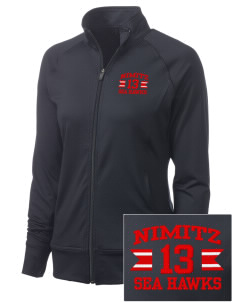 Nimitz Middle School Sea Hawks Women's NRG Fitness Jacket