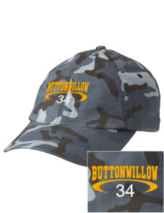 Buttonwillow Elementary School Roadrunners Embroidered Camouflage Cotton Cap