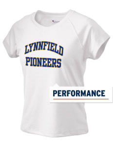 Lynnfield Middle School Pioneers Champion Women's Wicking T-Shirt