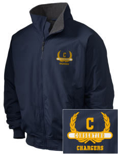 Consentino Middle School Chargers Embroidered Holloway Men's Tall Jacket