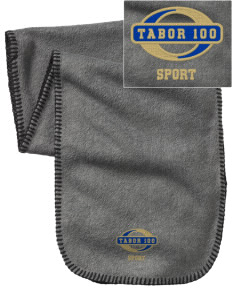 Tabor 100 Sport Embroidered Fleece Scarf