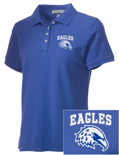 Santa Ynez Valley Christian Academy Eagles Embroidered Women's Performance Plus Pique Polo