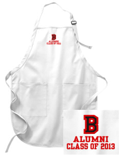 Benedictine University Eagles Embroidered Full-Length Apron with Pockets