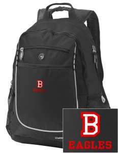 Benedictine University Eagles Embroidered OGIO Carbon Backpack