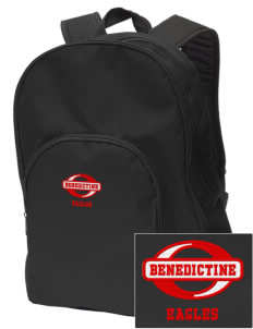Benedictine University Eagles Embroidered Value Backpack