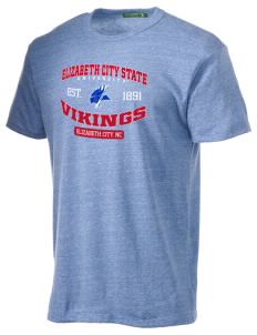Elizabeth City State University Vikings Alternative Men's Eco Heather T-shirt