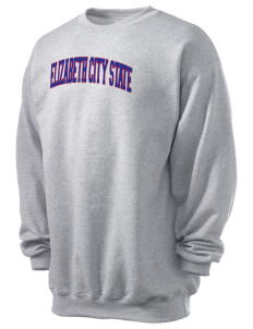 Elizabeth City State University Vikings Men's 7.8 oz Lightweight Crewneck Sweatshirt