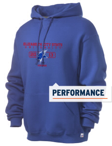 Elizabeth City State University Vikings Russell Men's Dri-Power Hooded Sweatshirt