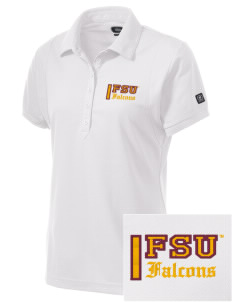 Fairmont State University Falcons Embroidered OGIO Women's Jewel Polo