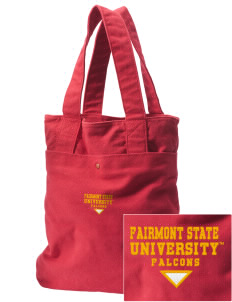 Fairmont State University Falcons Embroidered Alternative The Berkeley Tote