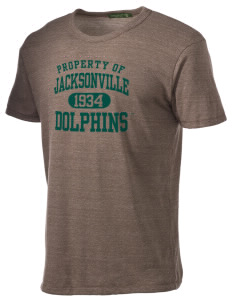 Jacksonville University Dolphins Alternative Men's Eco Heather T-shirt