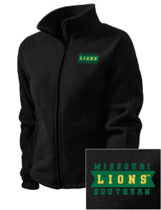 Missouri Southern State University Lions Embroidered Women's Fleece Full-Zip Jacket