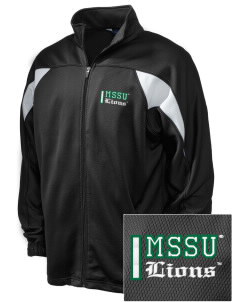 Missouri Southern State University Lions Embroidered Holloway Men's Full-Zip Track Jacket