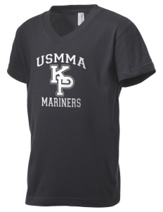 United States Merchant Marine Academy Mariners Kid's V-Neck Jersey T-Shirt